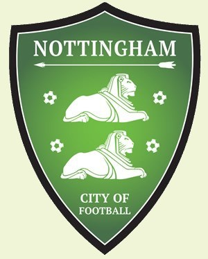Nottingham City of Football logo